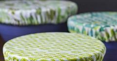 طريقة عمل اغطية للصحون من القماش (ezo-handmade) Tags: اشغال يدوية الطرز و الخياطة تدابير منزلية خياطة