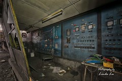 Control Room (Photography by Linda Lu) Tags: lostplacesbelgium lostplace hfb urbex urban urbanexploring decay discarded forgotten industrie industry controlroom