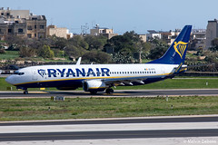 Ryanair Boeing 737-8AS  |  EI-DYC  |  LMML (Melvin Debono) Tags: ryanair boeing 7378as | eidyc lmml cn 36567 mla malta melvin debono spotting canon eos 5d mark iv plane planes photography airport airplane aviation aircraft