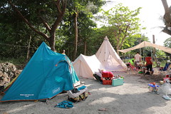 IMG_7305 (諾雅爾菲) Tags: taiwan camping 台灣 墾丁 露營 香蕉灣原始林露營區 熊帳 coleman 印地安帳