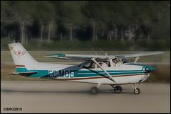 Cessna C172 (II) (Salvador Ruiz Gómez) Tags: avioneta hélice cessna cessna172 manises valenciana vlc vlclevc