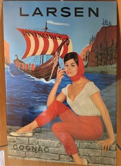 Affiche pour le cognac Larsen - Musée des Arts du cognac, Cognac (16) (Yvette G.) Tags: cognac 16 charente poitoucharentes nouvelleaquitaine musée muséedesartsducognac affiche