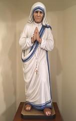 Saint Teresa of Kolkata (giveawayboy) Tags: anjezëgonxhebojaxhiu skopje albania macedonia christtheking catholic church nave statue saintteresaofkolkata saint teresa kolkata motherteresa