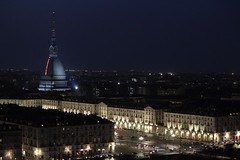 Turin by night. (giuselogra) Tags: torino turin italy italia piedmont piemonte city night notte