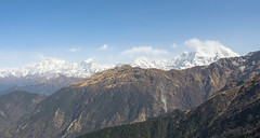 Chowkhamba pinnacles (eyenamic) Tags: chowkhamba chopta himalaya mountains snowpeak hills uttarakhand india landscape garhwal garhwalhimalaya nature nikon d5100