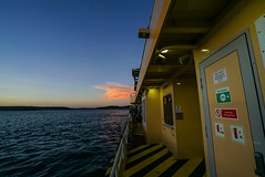 DSC01482 (Damir Govorcin Photography) Tags: sydney ferry harbour dusksunset water sea boat sky cloud colour wide angle sony a7rii zeiss 1635mm
