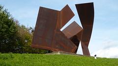 Josef Pillhofer, Raumentfaltung für H.L., 1950/2008 (sangiovese) Tags: museum liaunig josef pillhofer raumentfaltung skulptur stahl scultura acciaio steel sculpture