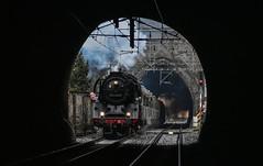 03 2155-4 (smejky.fotos) Tags: parní lokomotiva dr 0321554 03 děčín tunel kouř czech česko pára