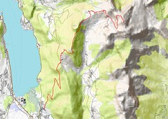 tournette_l (*_*) Tags: qgis map geo gis opentopomap osm openstreetmap hiking trail