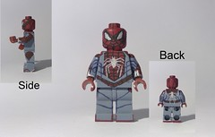 Custom LEGO Marvel: Spider-Man (Caruana Customs) Tags: suit advanced cat black shocker minifigure marvel lego custom ps4 spiderman