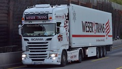 D - Weser Trans Scania R13 TL (BonsaiTruck) Tags: weser trans scania lkw lastwagen lastzug truck trucks lorry lorries camion caminhoes