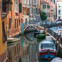 Venice (sklachkov) Tags: venice canals italy architecture buildings boats bridges