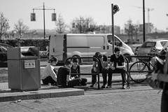 DSCF2099 (LexomIA) Tags: bordeaux street urbain bw nb streetphotography