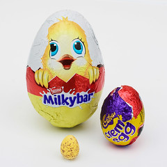 Eggs (Mel Low) Tags: smileonsaturday threesame square chocolateeggs eggs