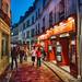 A Classic Street Scene in Paris