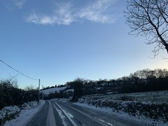Snow Day - Country Roads (firehouse.ie) Tags: 2019 march ireland countycork weather ice wintery snowscape snow countryside highways highway roadway roads road