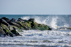 Wave! (Bhargav Kesavan) Tags: wave beach landscape ocean sea newjersey usa outdoor nikon photography nature landscapelovers naturelovers water
