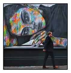 STREET ART by ANT CARVER (StockCarPete) Tags: antcarver streetart londonstreetart london uk graffiti londonart publicart taminaswann