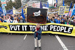 Put It To The People March - London, 23 March 2019 (The Weekly Bull) Tags: brexit britain conservative eu europeanunion kayamar london peoplesvote tory uk art democracy demonstration headlesschicken protest rally rerun referendum remainers satire