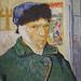 Autoportrait à l'oreille bandée de Vincent Van Gogh (Fondation Vuitton, Paris)