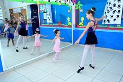Aula de Balet na E.M. Adelaide de Magalhães em Itaboraí (2) (itaborairj) Tags: escola aula balet itaboraí indice ideb aprovada 29032019