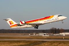 EC-JEF (PlanePixNase) Tags: hannover eddv haj aircraft airport planespotting langenhagen iberia airnostrum nostrum crj crj200
