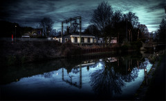 Just... At The Station (nigdawphotography) Tags: restaurant river railway station reflections roydon essex