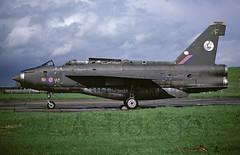 LIGHTNING F2A  XN774 (TF102A) Tags: aviation aircraft airplane kodachrome englishelectric lightning xn774 92squadron raf rafconingsby