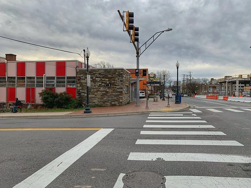 Empty streets, Silver Spring