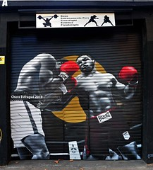 graffiti 2019 (alienigena51) Tags: graffiti art arte arteurbano urbanart wallart cultura creatividad creativitat mural boxeo