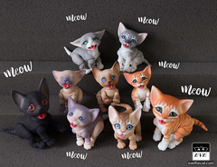 Kitten gang! (BJD Pets (dolls.evethecat.com)) Tags: bjd bjds bjdsale bjdforsale bjdoll bjddoll bjdlover bjdphoto bjdart dolls evestudiodolls artdoll dollart cat bjdpets kitty cute bjdcat kittens