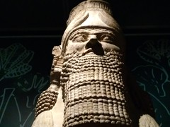UK - London - Bloomsbury - British Museum - Head of Lamassu from palace at Nimrud (JulesFoto) Tags: uk england london britishmuseum assyria sculpture