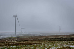 SJ1_4600 - Coal Clough windfarm (SWJuk) Tags: swjuk uk unitedkingdom gb britain england lancashire burnley home longcauseway coalcloughwindfarm turbines windmills mist fog snow propellers moors moorland hills hillside clouds 2019 jan2019 winter nikon d7200 nikond7200 nikkor1755mmf28 rawnef lightroomclassiccc landscape countryside view scenery