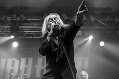 Bernie Shaw : lead vocals - Uriah Heep (samarrakaton) Tags: 2019 santana27 bilbo bilbao samarrakaton nikon d750 uriahheep concert concierto show live directo rock rockband byn bw blancoynegro blackandwhite monocromo vocal voz bernieshaw