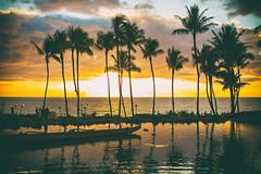 Here She Comes (Thomas Hawk) Tags: grandwailea hawaii maui wailea waldorfastoria waldorfastoriagrandwailea beach clouds humuhumu humuhumunukunukuapuaa palmtree restaurant sunset tree fav10 fav25 fav50
