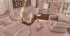 Posh Deluxe (blair.dalton) Tags: ar tuesdays mossmink dad childrensroomsinsl sl secondlife interiordesign chic mesh familyfurniture furniture pg fameshed bedrooms