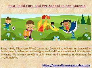 Best Child Care and Pre-School in San Antonio
