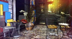 La Trattoria (Alexa Maravilla/Spunknbrains) Tags: merak equal10 collabor88 belleevent milkmotion 22769 applefall hive sl secondlife decor sldecor slevents blog blogger thor