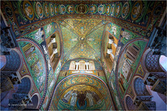 Basilica di San Vitale (Sandra Lipproß) Tags: ravenna italy basilicadisanvitale unesco worldheritage mosaic ancient history historic 6thcentury europe travel sightseeing ostrogoths byzantine architecture ceiling