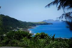 chemin faisant... (2) (8pl) Tags: mer océan baie côte eau ciel paysage arbre feuille feuillage tropical escarpé montagne colline île lanyu taïwan luxuriant végétation