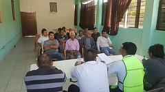Llevamos acabo la reunión de información en el Municipio de San Agustín Atenango con el Presidente, Efraín Camacho López para la integración del Consejo Municipal de Protección Civil participaron sus dos agencias, San Mateo.