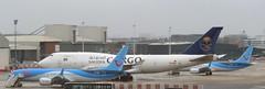 TC-ACG Saudia Cargo B747-8F plus OO-MAX B737 MAX &OO-TMB BRU 150319 (kitmasterbloke) Tags: brussels zaventem bru ebbr aircraft aviation jet belgium outdoor transport
