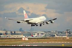 China Airlines Cargo, B-18708, MSN 30765, Boenig 747-409F, 09.10.2016,  FRA-EDDF, Frankfurt (henryk.konrad) Tags: chinaairlines cargo b18708 msn30765 boenig b744 b747409f frankfurt fraeddf henrykkonrad