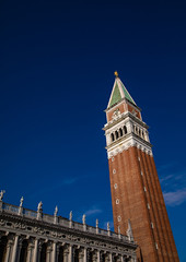 Bell tower campanile in piazza San Marco, Veneto, Venice, Italia (Eric Lafforgue) Tags: architecture basilica bell belltowertower buildingexterior campanile cathedral christianity city colourimage copyspace day europe europeanculture famousplace history internationallandmark italia italianculture italy mediterraneanculture nopeople outdoors photography piazzasanmarco summer tourism tower travel traveldestinations unescoworldheritagesite veneto venice veniceitaly venise046 vertical westerneurope it