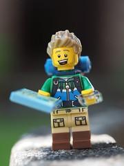 Lego MiniFig Chris Navigator (Chris*4) Tags: chris navigator walk1000miles 2019 lego minifigs olympus 60mmmacro