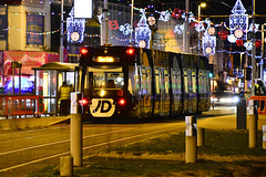 Tram On The Prom, Blackpool, Lancashire 26/10/2018 (Gary S. Crutchley) Tags: blackpool illuminations lancashire tram uk great britain england united kingdom nikon d800 history heritage local night shot nightshot nightphoto nightphotograph image nightimage nightscape time after dark long exposure evening travel pub inn beer ale tavern hostelry bar public house seaside seafront