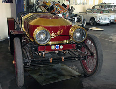 Steam Speedster (Schwanzus_Longus) Tags: age america american brass burgundy car classic cup german germany gold malle museum power powered race racing red speedster steam steamer us usa vanderbilt vehicle vintage old stanley
