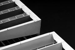Miami Downtown Series. Gap (Mariner's Photography) Tags: miami downtown architecture blackwhite blackandwhite bw brickell