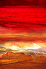 AB 0294 - Jialba - 2004 (Jialba) Tags: anges artabstrait aérien cosmos couleurs fantastique lumière nature paysage spiritualité temps voyage soleil sunset crépuscule espoir vie rouge orange blanc passage sunrise aurore