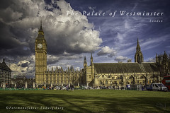Palace of Westminster (Fotomanufaktur.lb) Tags: london westminsterpalace bigben england schölkopf schoelkopf canon eos clouds wolken spring frühling brexit parliament housesof